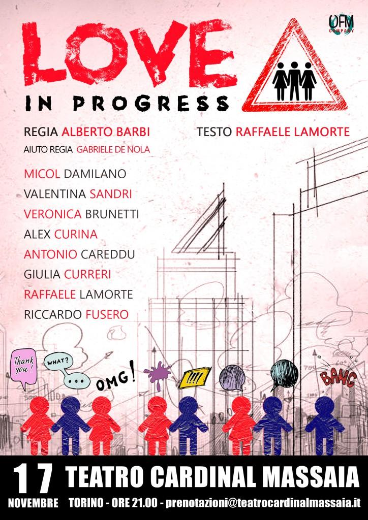 Love in Progress - Locandina