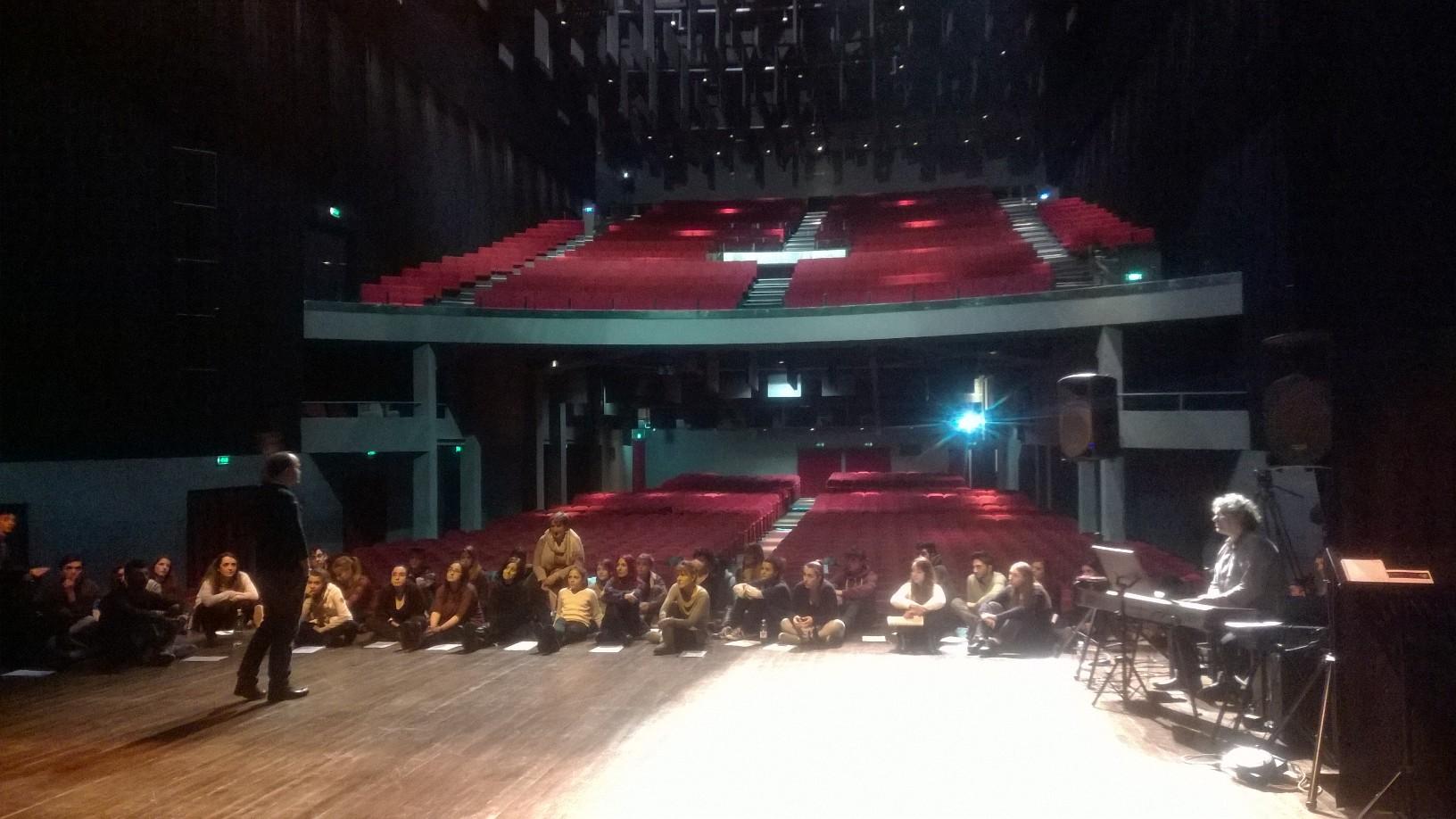 Masterclass con Francesco Lori al Teatro Colosseo