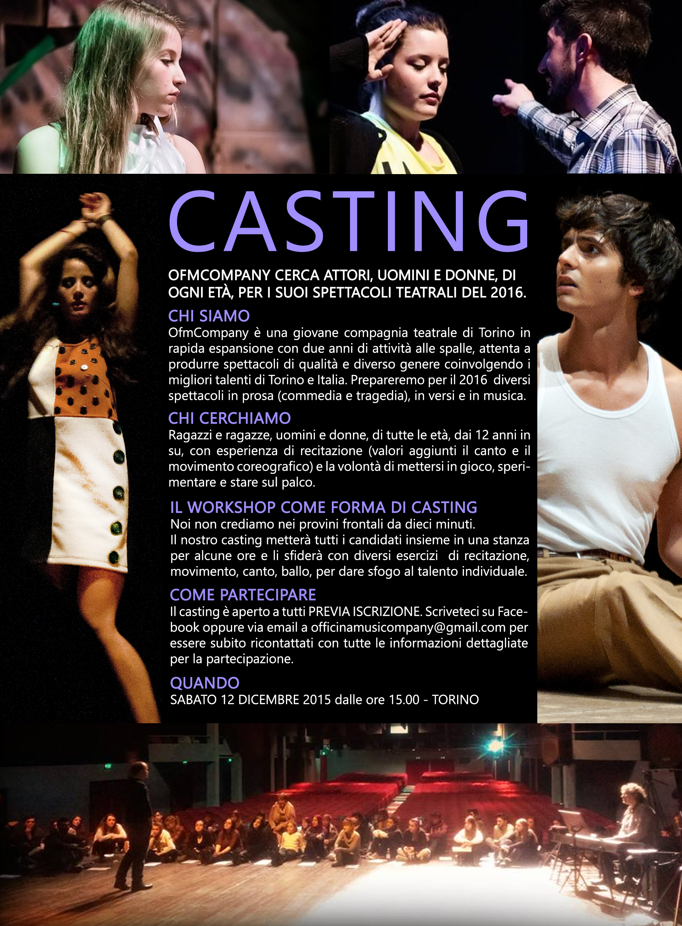 OfmCompany Casting Workshop