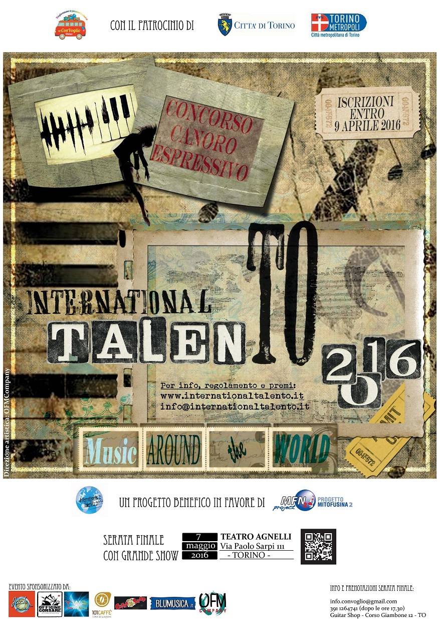 LOW Locandina International Talento
