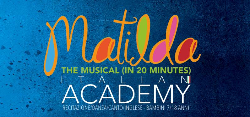 Matilda the Musical Italian Academy