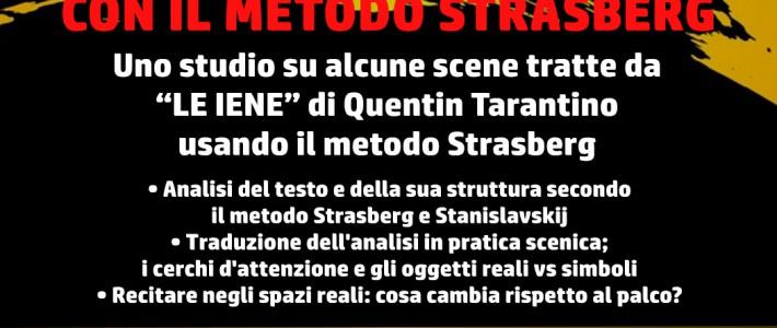 "Workshop di recitazione ""Le Iene"" con metodo Strasberg e Stanislavskij"
